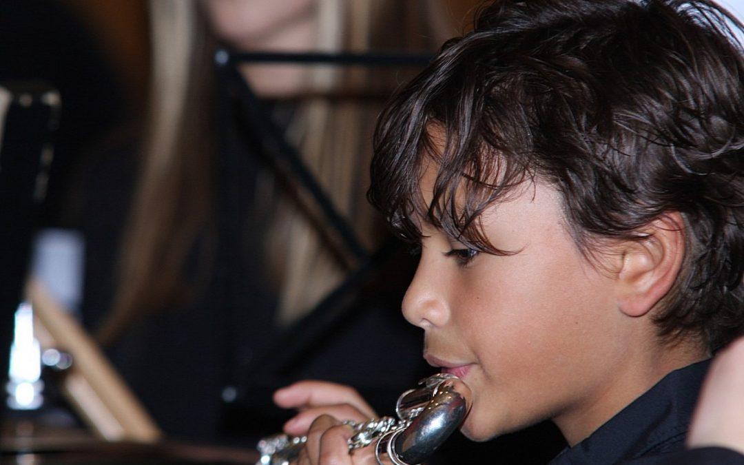 Muziek in de zaal!